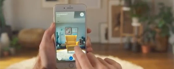 New Ikea Place mobile app